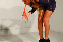 Millie Brown / Millie brown is a British performance artist.