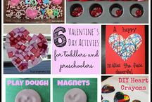 Valentines Day for my kids / ideas to make this Valentines Day just a little bit more special than a regular day. Start some traditions?