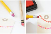 Pencil Stamps! / by Kaitlyn Angel