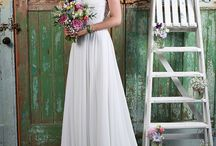 Wedding Dresses / A selection of the beautiful bridal dresses available in our boutique including Diane Harbridge, Amanda Wyatt and Alexia Bridal