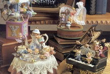 Music Boxes & SnowGlobes / by JoMarie Radcliffe