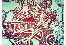 My works / Streetart