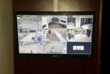 8 Channel Home installation / 8 Channel DVR (Smartphone, Tablet, Laptop etc compatible)  8 IR Bullet Cams LCD Screen Permission granted from owner to upload some installation photos.