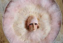 Dolls - Half Dolls / All sorts of half dolls - from boudoir dolls, powder puff dolls, brush dolls and more...