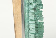 Recycled Glass Art / Recycled glass