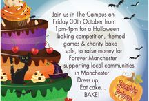 Caketober / As part of Caketober we are hosting an event, 30th October 2015. In aid of Forever Manchester, a charity that funds thousands of community projects across Greater Manchester.