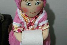 Porta papel higiênicos