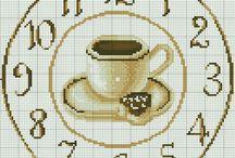 kávés óra