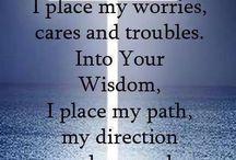 Prayer, peace, comfort, scripture