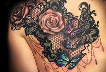 Lacework tattoos
