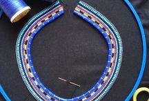 Massai necklaces