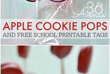 Teacher / School Themed Cake Pops