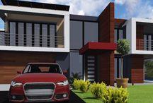 Contemporary / Green building