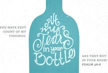 Bible art / Illustrated verses. Verses with graphics.