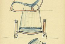 armchair sketch