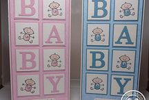 Baby Girl, Baby Boy Cards