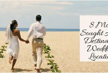 8 Most Sought After Destination Wedding Locations / There are a lot of benefits to having a destination wedding – and cost is not just the only reason.  http://www.kimberleyandkev.com/8-most-sought-after-destination-wedding-locations/