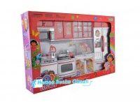 Oyuncak Dora Mutfak Seti Sesli Işıklı