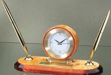 Desk Clocks / Quality Desk Clocks in Mahogany and Burl Hardwoods. Metal Desk Clocks in Chrome & Gold, Crystal Desk Clocks, Skeleton clocks and desk clocks engraved at... http://www.theisenclock.com/desk_clock.html