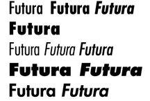 Futura / Futura in Action A few great articles:  http://www.guardian.co.uk/artanddesign/2009/sep/02/ikea-verdana-font http://www.marksimonson.com/article/87/royal-tenenbaums-world-of-futura / by Jesyka D'Itri Marés