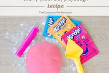 Sensory Activities / play dough and slime / by Shantelle Strickland