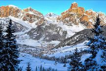 Winter Holidays in the Dolomites / Collett's Mountain Holidays offer winter skiing holidays, snowshoeing and winter walking in the Dolomites, Italy.
