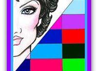 Iarna rece (Cool / True / Tinted Winter) / Explicatiile pozelor din album le gasiti pe Chic Book, Blog de culoare si inspiratie. Chic Book: Read the Book, get the Look. www.ChicBook.ro