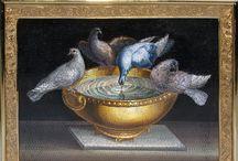 Micro Mosaic. Bird.