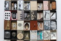 Art: Matchboxes & tins / by Kirsty Hall