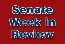 Senate Week In Reviews / Compilation of all 'Senate Week In Review' Articles