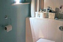 Bathroom Lighting / Motion sensored lighting perfect for late night trips to the bathroom.