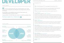 CV & PORTFOLIO DESIGN / DESIGN FOR CV