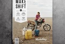 Magazine design, layouts