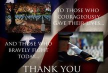 Holidays ~ Patriotic ♥~♥♥ / 4th of July, Labor Day, Memorial Day, Veterans Day, etc.