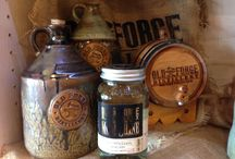 Small Batch Spirits / Sample our small batch spirits at the Old Forge Distillery  - Monday through Saturdays. #PigeonForge #Tennessee