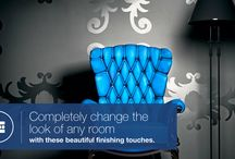 Wall Coverings / Home walls are commonly unused space that has all the potential for a work of art