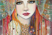 Paintings of women