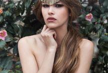 Models / A few photoshoot at Chateau de La Ligne