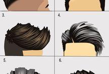 coiffure homme