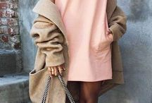 Peach dress outfits