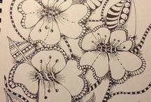 Zentangles / Art / by Wee Pottage, Whimsical Totems, Art And Functional Pottery