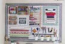 Craft/Garage Organization
