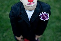 CLOWNING AROUND / I love clowns only nice ones and anything associated with their humour and fun.