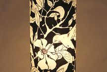 Lamps Pomegranate Tree Black & White collection_LuzdePapel