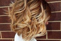 Medium Length Hairstyles / This is where you'll find some great inspiration and ideas for medium length hairstyles. From haircolor and hair cuts.