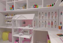 Brinquedoteca / Ambientes desenhados pelo blog www.seusonhodesenhado.com
