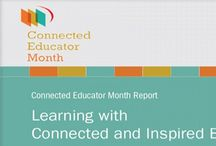 Connected Educators Month (10/2013) / An initiative of Office of Education Technology in the Dept of Education & helps educators thrive in a connected world.