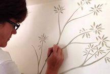 Mural painting videos!