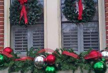 Weihnachtsdeko / Fenster
