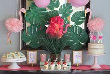 Party: Flamingle / Flamingos